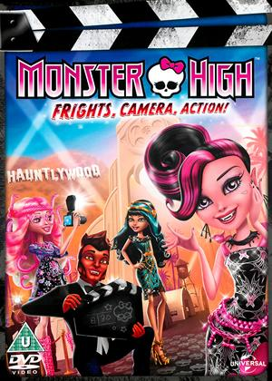 Monster High: Frights, Camera, Action! Online DVD Rental