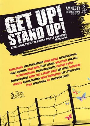 Rent Get Up! Stand Up!: Highlights from the Human Rights Concerts 1986-1998 Online DVD Rental