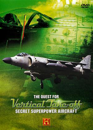 Secret Superpower Aircraft: Quest for Vertical Takeoff Online DVD Rental