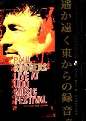 Paul Rodgers: Live at Udo Music Festival Online DVD Rental