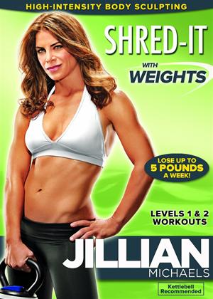 Rent Jillian Michaels: Shred It With Weights Online DVD Rental