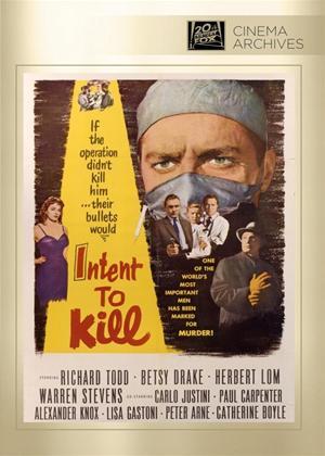 Intent to Kill Online DVD Rental