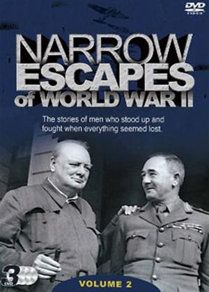 Narrow Escapes of WWII: Vol.2 Online DVD Rental