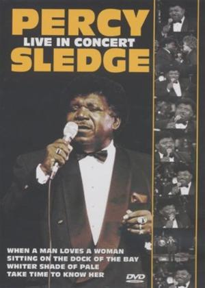 Rent Percy Sledge: Live in Concert Online DVD Rental