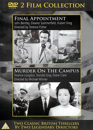 Final Appointment / Murder On the Campus Online DVD Rental