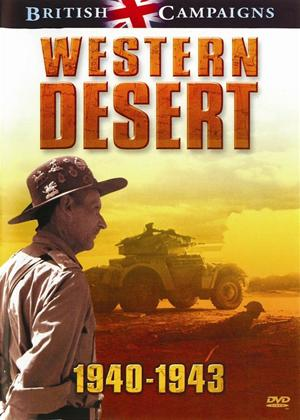 British Campaigns: Wester Desert 1940 to 1943 Online DVD Rental