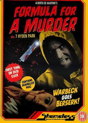 Formula for a Murder Online DVD Rental