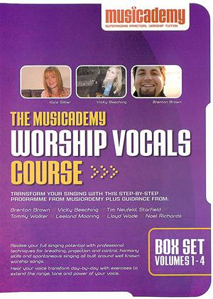The Musicademy: Worship Vocals Course 1-4 Online DVD Rental