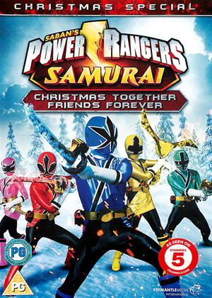 Power Rangers Samurai: Christmas Together, Friends Forever Online DVD Rental