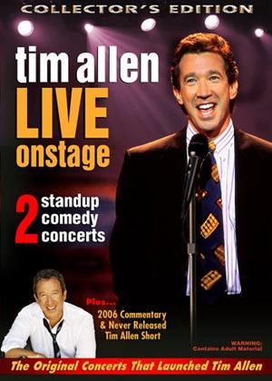 Rent Tim Allen: Live Onstage Online DVD Rental
