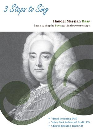 Rent Three Steps to Sing Handel Messiah: Bass Online DVD Rental