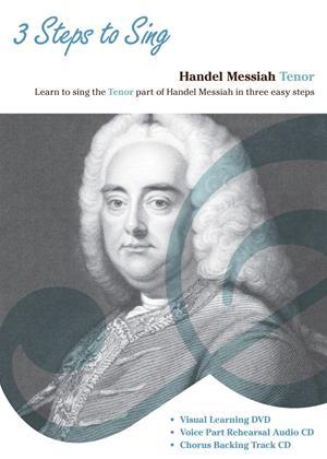 Rent Three Steps to Sing Handel Messiah: Tenor Online DVD Rental