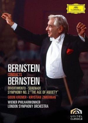 Rent Leonard Bernstein: Bernstein Conducts Bernstein Online DVD Rental
