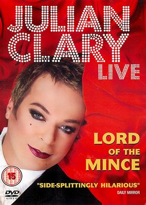 Rent Julien Clary Live: Lord of the Mince Online DVD Rental