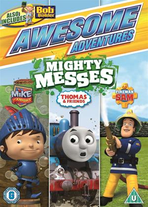 Rent Awesome Adventures: Mighty Messes Online DVD Rental