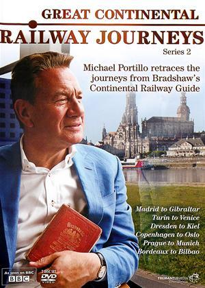 Rent Great Continental Railway Journeys: Series 2 Online DVD Rental