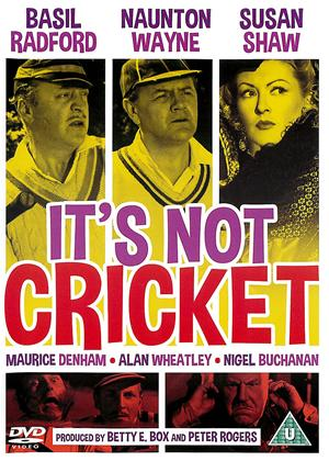 Rent It's Not Cricket Online DVD Rental