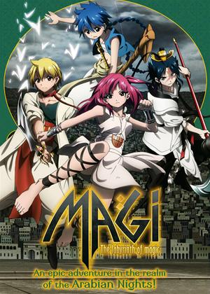 Magi: The Labyrinth of Magic Online DVD Rental