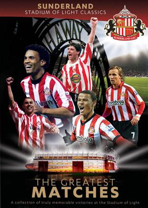 Sunderland AFC: Stadium of Light Classics: Greatest Matches Online DVD Rental