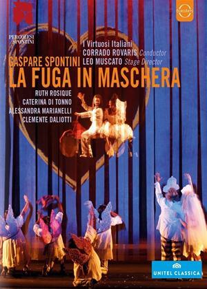 Rent La Fuga in Maschera: Festival Pergolesi E Spontini (Rovaris) Online DVD Rental