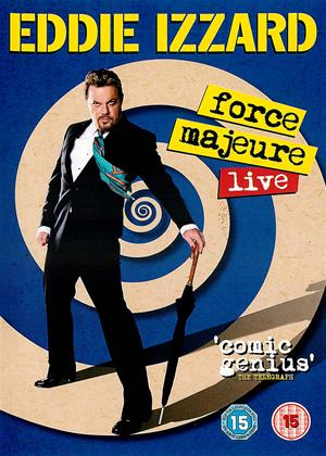 Eddie Izzard: Force Majeure Live Online DVD Rental