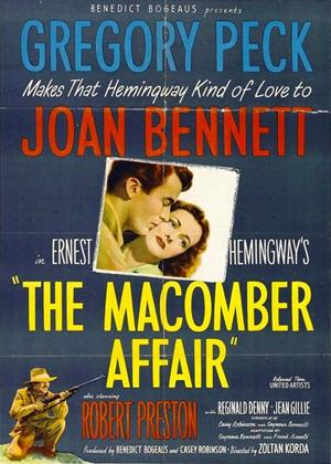 The Macomber Affair Online DVD Rental
