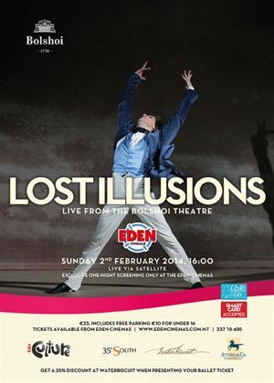 Rent Lost Illusions: Bolshoi Ballet Online DVD Rental