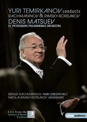 Rent Yuri Temirkanov Conducts Rachmaninov and Rimsky-Korsakov Online DVD Rental