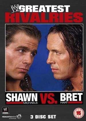 WWE's Greatest Rivalries: Shawn Michaels Vs Brett Hart Online DVD Rental