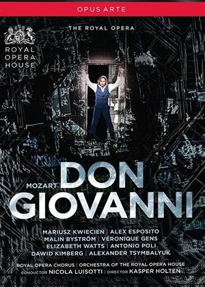 Rent Don Giovanni: Royal Opera House (Luisotti) Online DVD Rental