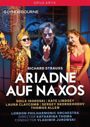Rent Ariadne Auf Naxos: Glyndebourne (Jurowski) Online DVD Rental