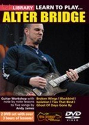 Rent Lick Library: Learn to Play Alter Bridge Online DVD Rental