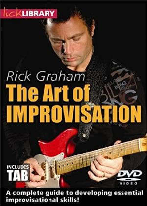 Rent Lick Library: The Art of Improvisation By Rick Graham Online DVD Rental