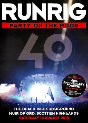 Runrig: Party on the Moor: 40th Anniversary Concert Online DVD Rental