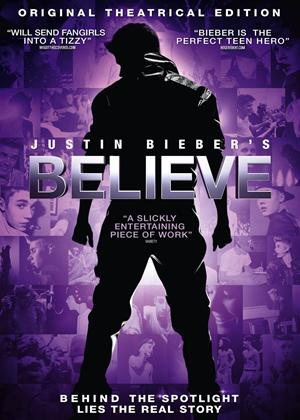 Rent Justin Bieber's Believe Online DVD Rental