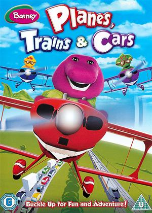 Rent Barney: Planes, Trains and Cars Online DVD Rental