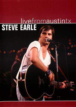 Steve Earle: Live from Austin, Texas Online DVD Rental
