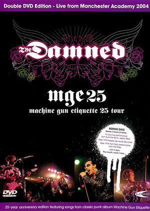 The Damned: Machine Gun Etiquette: 25th Online DVD Rental