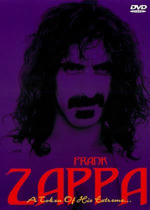 Frank Zappa: A Token of His Extreme Online DVD Rental