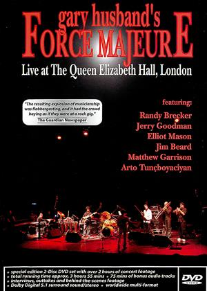 Gary Husband's Force Majeure: Live Online DVD Rental