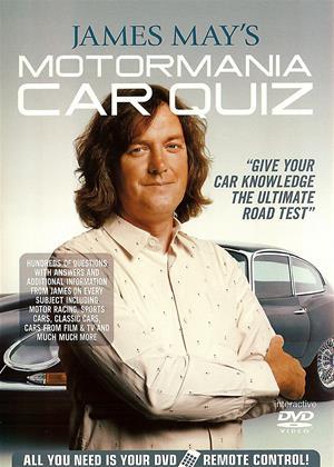 James May's Motormania Car Quiz Online DVD Rental