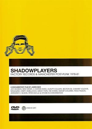 Rent Shadowplayers: Factory Records and Manchester Post-Punk Online DVD Rental