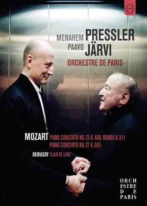 Rent Menahem Pressler/Paavo Järvi: Mozart/Debussy Online DVD Rental