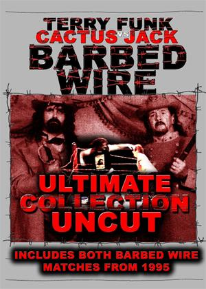 Barbed Wire Ultimate Collection Uncut: Terry Funk vs. Cactus Jack Online DVD Rental