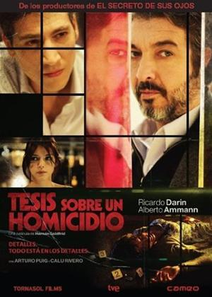 Rent Thesis on a Homicide (aka Tesis sobre un homicidio) Online DVD Rental