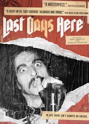 Rent Last Days Here Online DVD Rental