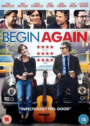 Begin Again Online DVD Rental