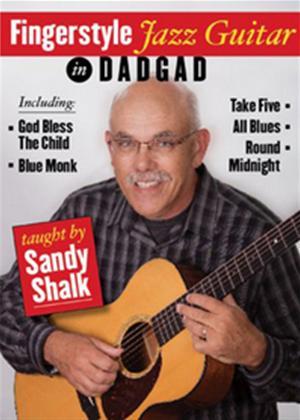 Rent Fingerstyle Jazz Guitar in DADGAD Online DVD Rental