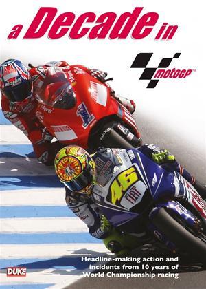 Rent MotoGP: A Decade in MotoGP Online DVD Rental