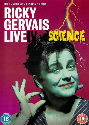 Rent Ricky Gervais: Live IV: Science Online DVD Rental